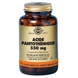 ACIDE PANTOTHENIQUE 550 mg