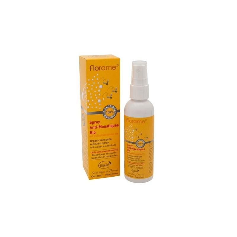 Spray anti moustique bio florame anti moustiques - Lavande contre moustique ...