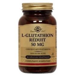 L-GLUTATHION Réduit 50 mg
