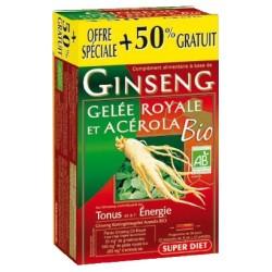 GINSENG - GELEE ROYALE Acérola Bio