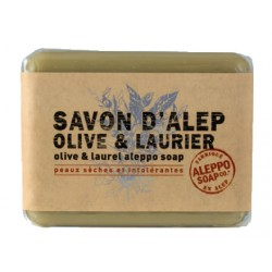 SAVON D'ALEP Olive Laurier