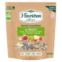 MUESLI Croustillant 6 Fruits
