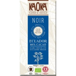 CHOCOLAT NOIR Ecuador 80% Bio