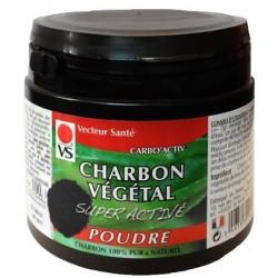 CHARBON VEGETAL Super Activé Poudre
