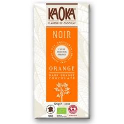 CHOCOLAT NOIR Orange Bio