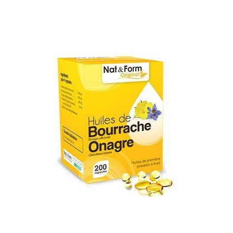 NAT & FORM Onagre & Bourrache