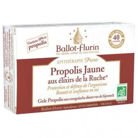 PROPOLIS JAUNE aux Elixirs de la Ruche