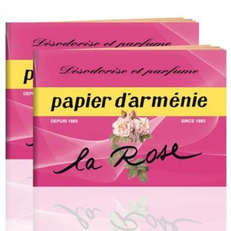 PAPIER D'ARMENIE Triple La Rose