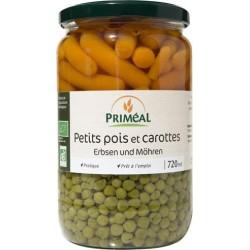 PRIMEAL Petits Pois et Carottes Bio