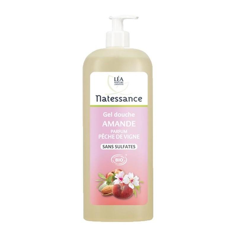 Gel douche amande p che de vigne natessance pour la douche - Gel douche sans sodium laureth sulfate ...