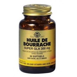 HUILE DE BOURRACHE Super GLA 300 mg