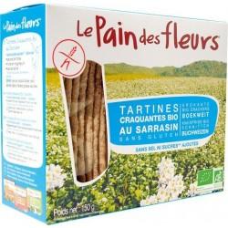 PAIN DES FLEURS Tartines au Sarrasin sans Sel