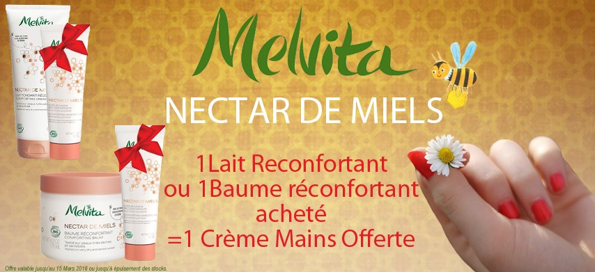 Melvita Nectar des Miels