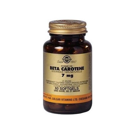 BETA-CAROTENE 7 mg