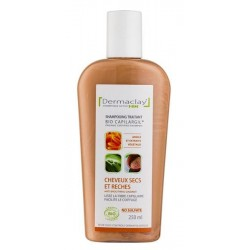 BIO CAPILARGIL Shampooing Cheveux Secs et Rêches