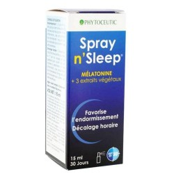 SPRAY 'N SLEEP à la Mélatonine