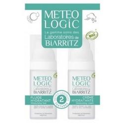 METEOLOGIC Duo Binôme Crème et Fluide Hydratants