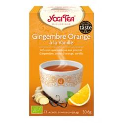 GINGEMBRE Orange à la Vanille