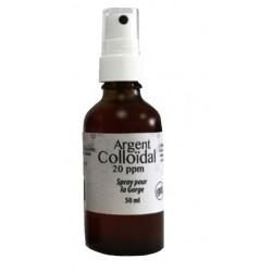 ARGENT COLLOIDAL Spray pour la Gorge