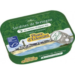 Sardines de Bretagne au Tartare d'Algues Bio