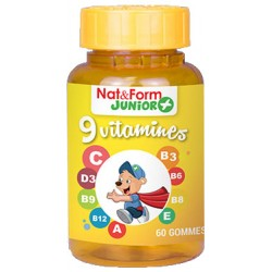 Nat & Form Junior 9 Vitamines