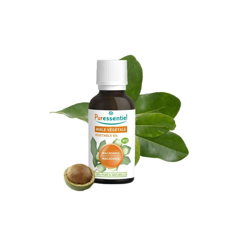 huile vegetale de macadamia bio puressentiel huiles. Black Bedroom Furniture Sets. Home Design Ideas