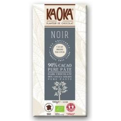 Chocolat Noir 90% Cacao Pure Pâte