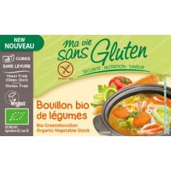 Bouillon Bio Sans gluten de Légumes