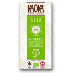 CHOCOLAT NOIR Eclats de Noisettes Caramélisées Bio