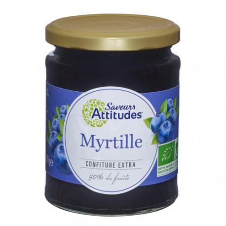 CONFITURE EXTRA Myrtille Sauvage Bio