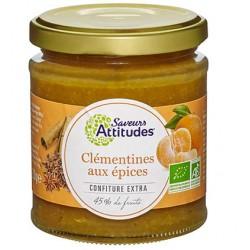 CONFITURE EXTRA Clémentines Epices Bio
