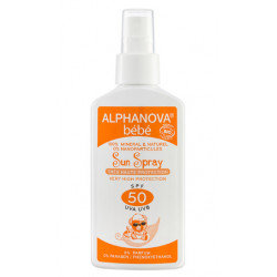 ALPHANOVA SUN Spray Bébé SPF50
