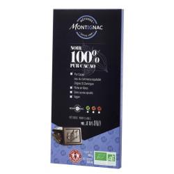 CHOCOLAT MONTIGNAC Noir 100%