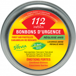 112 BONBONS D'URGENCE Stévia