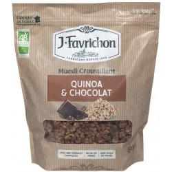 MUESLI CROUSTILLANT Quinoa Chocolat