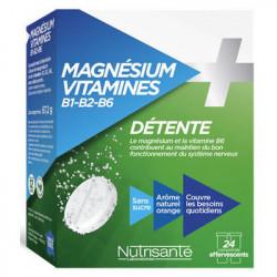 Magnésium + Vitamines B1,B2, B6
