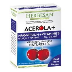 ACEROLA+ Magnésium & Vitamines