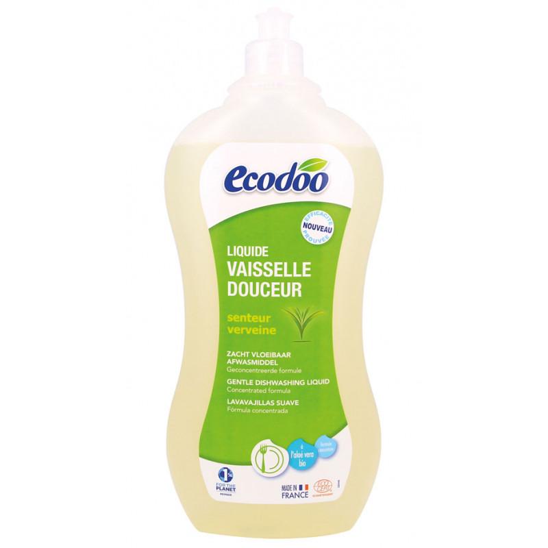 liquide vaisselle aloe ecologique ecodoo produits vaisselle colo. Black Bedroom Furniture Sets. Home Design Ideas