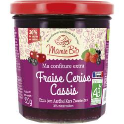 CONFITURE Fraise Cerise Cassis