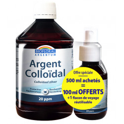 ARGENT COLLOIDAL 20 ppm