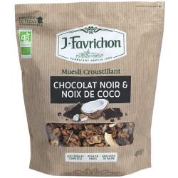 MUESLI CROUSTILLLANT Chocolat Noir & Coco
