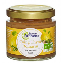 CONFITURE Coing Thym Romarin