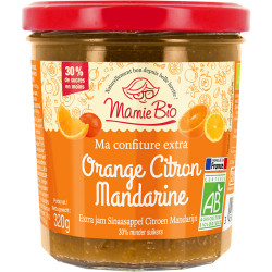 CONFITURE Orange Citron Mandarine
