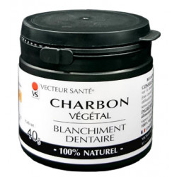 CHARBON VEGETAL Blanchiment Dentaire