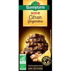 CHOCOLAT NOIR Citron Gingembre