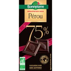 CHOCOLAT NOIR Sélection Pérou 75%