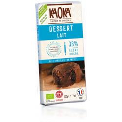 CHOCOLAT LAIT Dessert Bio 38%