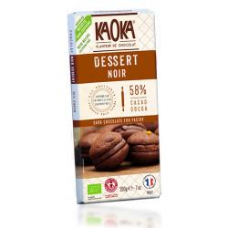 CHOCOLAT NOIR Dessert Bio 58%