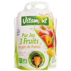 PUR JUS 3 Fruits Vergers de France