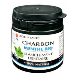 BLANCHIMENT DENTAIRE Charbon Menthe